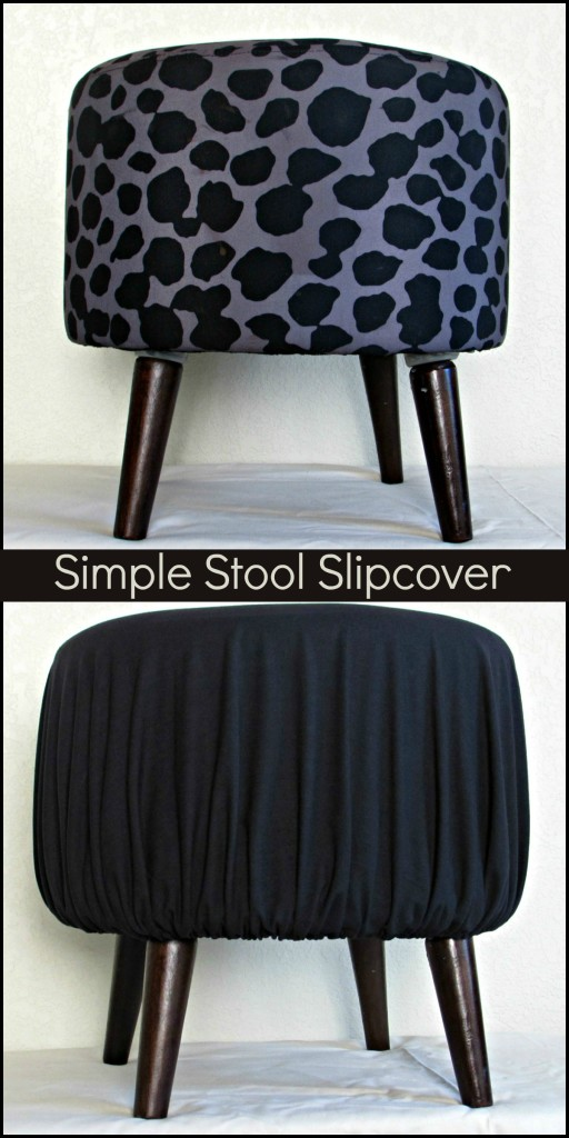 Simple Stool Slipcover