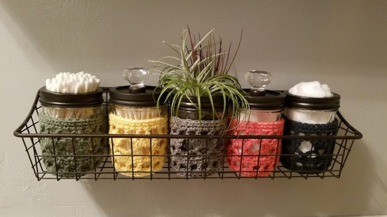 Bathroom – Accessories Turn mason jars into cool apothecaries for cotton balls & swabs